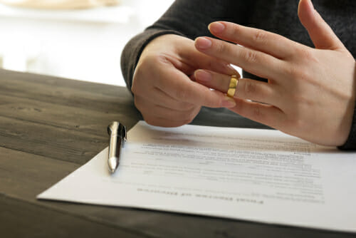 Divorce mediation abstract