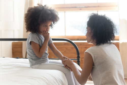 divorce communicate with children