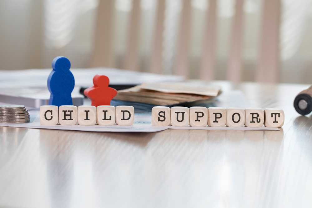 child support agreement in MD